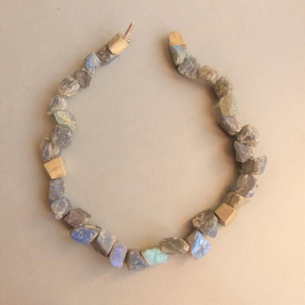 Halskette aus Labradorit....