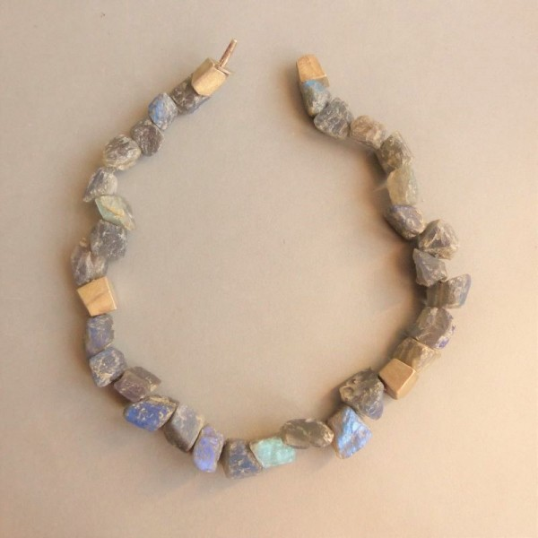 Labradorite necklace....