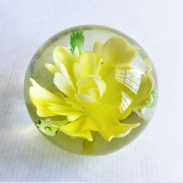 Glass paperweight from...