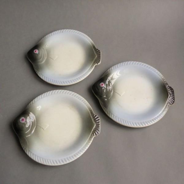 Art Nouveau ceramic plates....