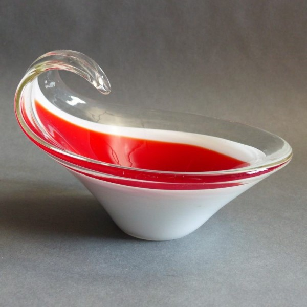 Vintage glass bowl. Murano...
