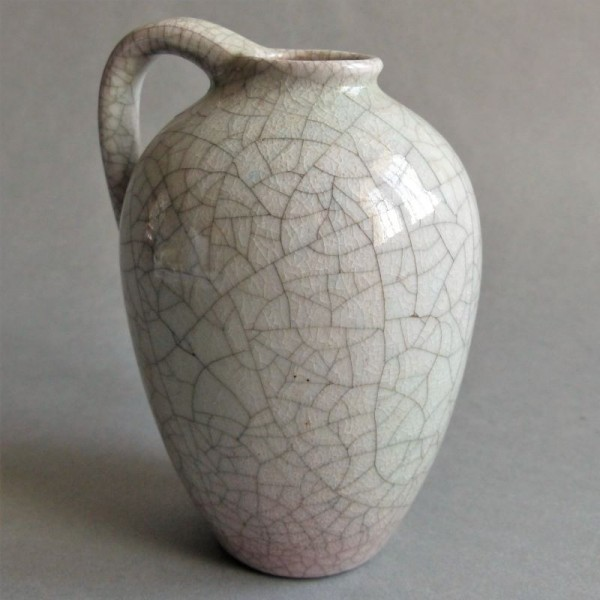 Craquele ceramic vase from...