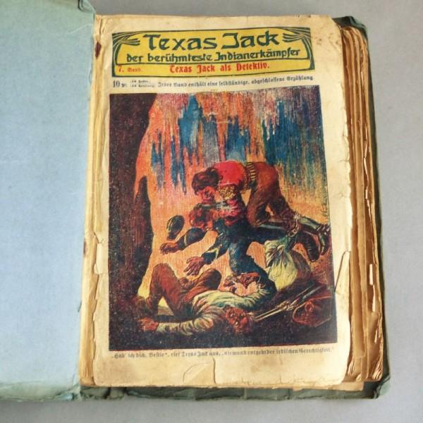 Novelas de Texas Jack 1910...