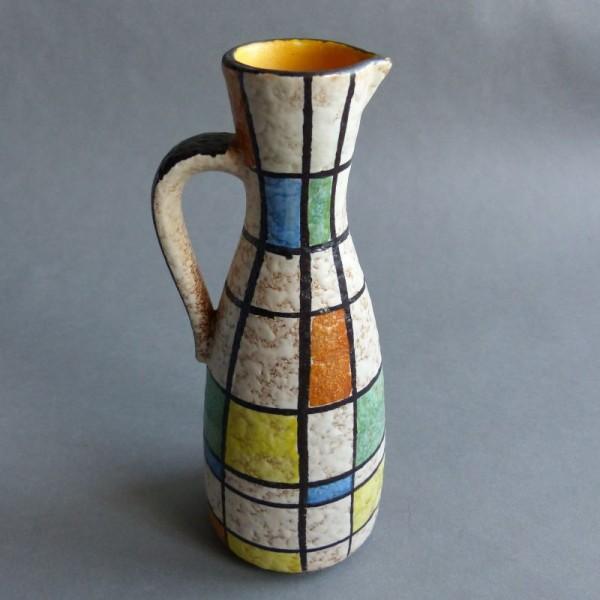 Florero vintage de cerámica...