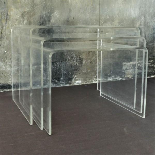 Vintage plexiglass side...