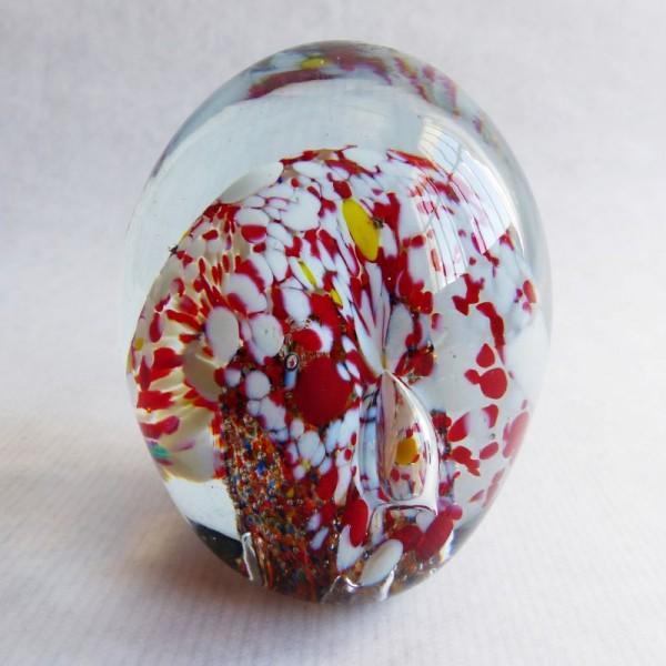 Murano glass paperweight....