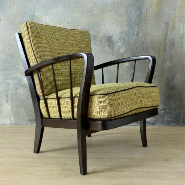 Vintage wooden armchair...