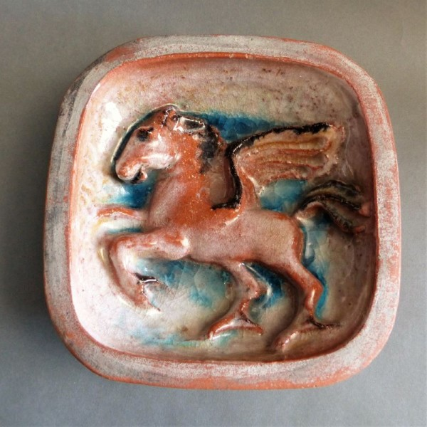 Ofenkachel Pegasus der...