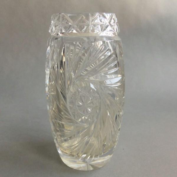 Florero vintage de cristal....