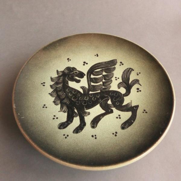 Schale aus Keramik der...