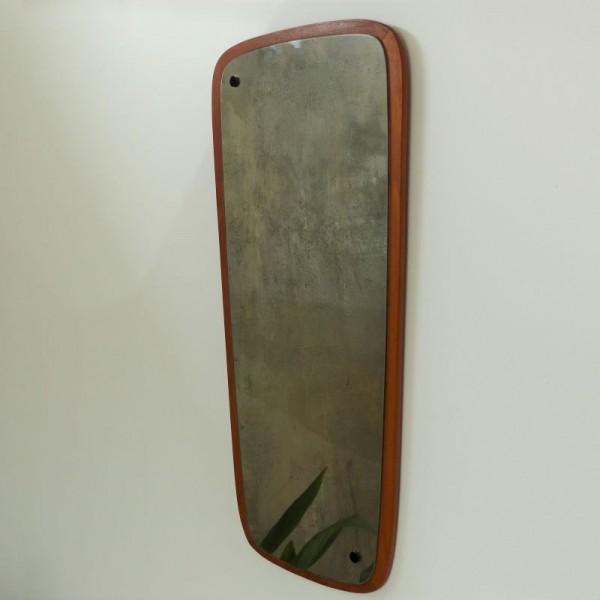 Vintage teak wall mirror....