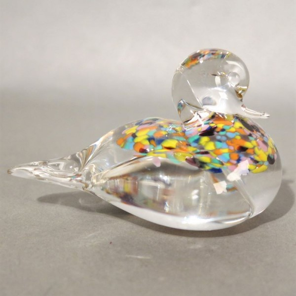 Vintage glass duck from...