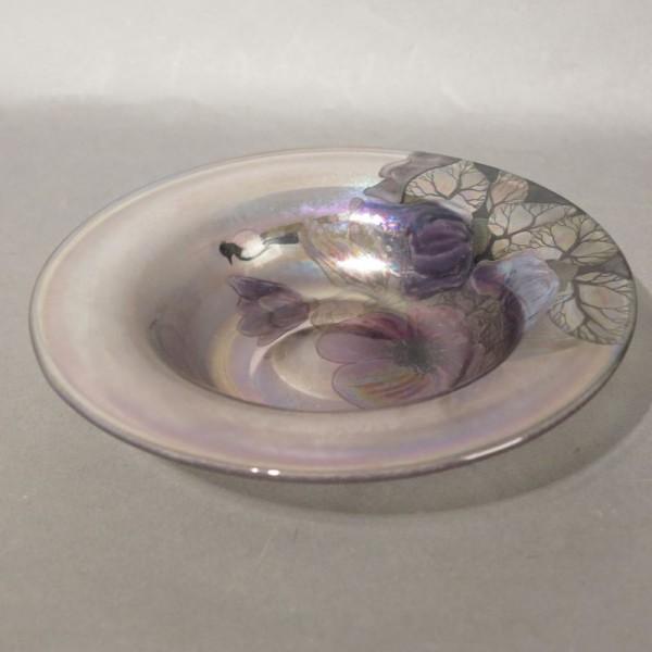 Vintage studio glass bowl...