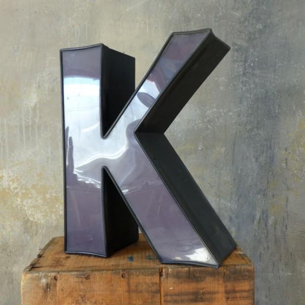 Vintage sign letter - K -...