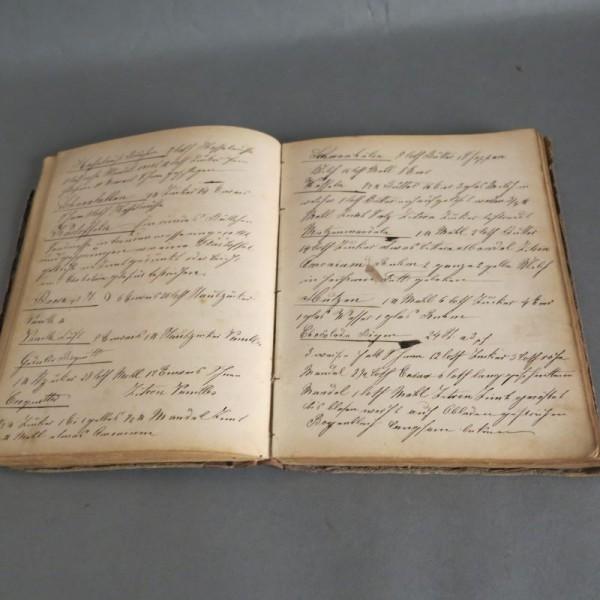 Antiguo libro de cocina /...