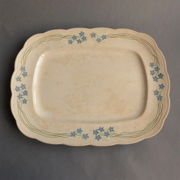 Art Nouveau ceramic tray...