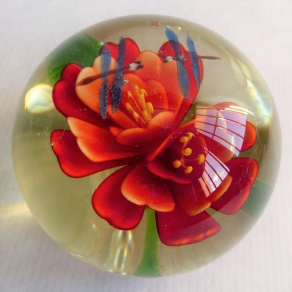 Murano glass paperweight....