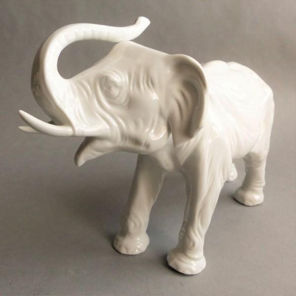 Elefante de porcelana de...