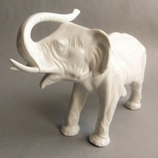 Porcelain elephant from...