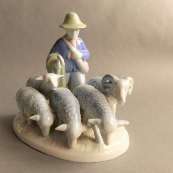 Porcelain group by Gerold...