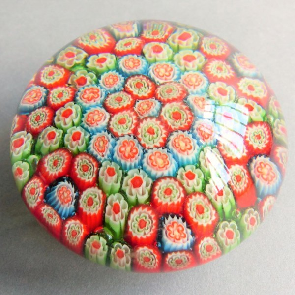 Millefiori paperweight from...