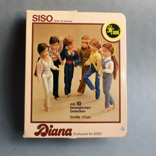 Doll DIANA from Siso mint...