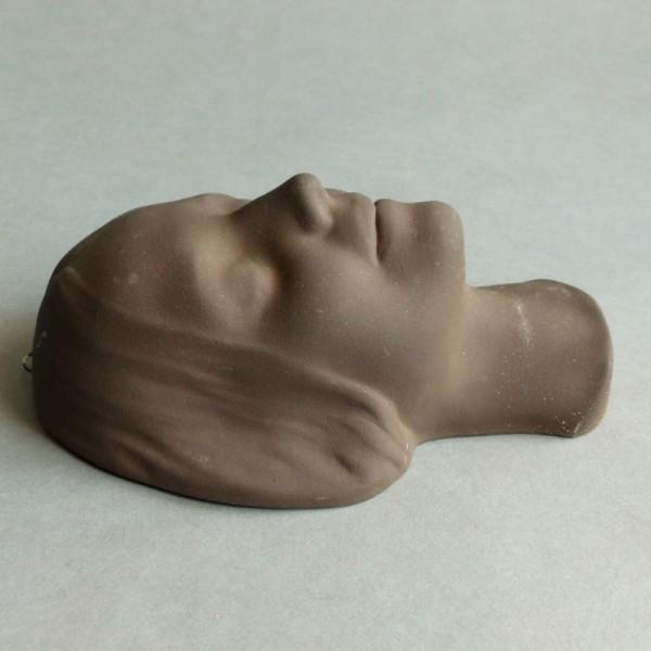 """Keramik Wandmaske """"Die Tote..."""