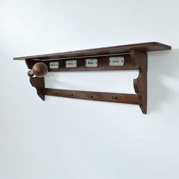 Art Nouveau wall shelf for...