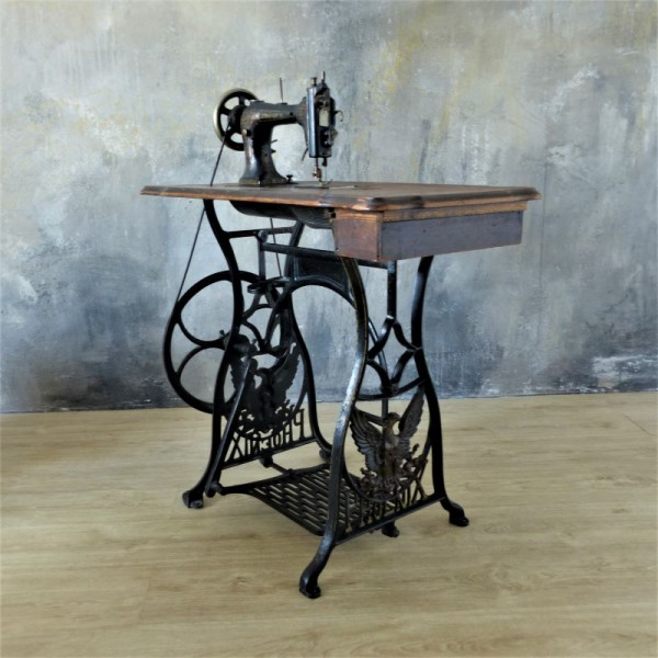 Antique sewing machine from...