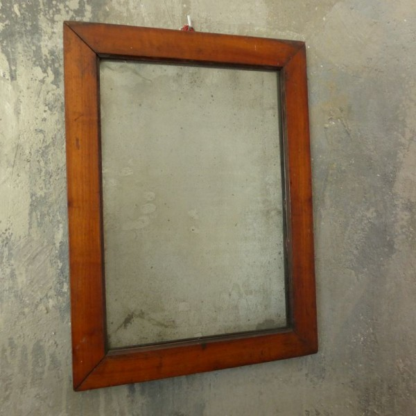 Antique Biedermeier mirror...