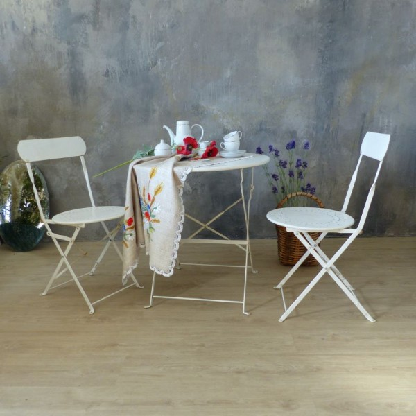 Two vintage garden chairs...
