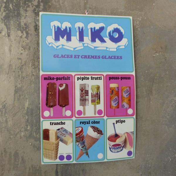 Chapa litografiado de MIKO....