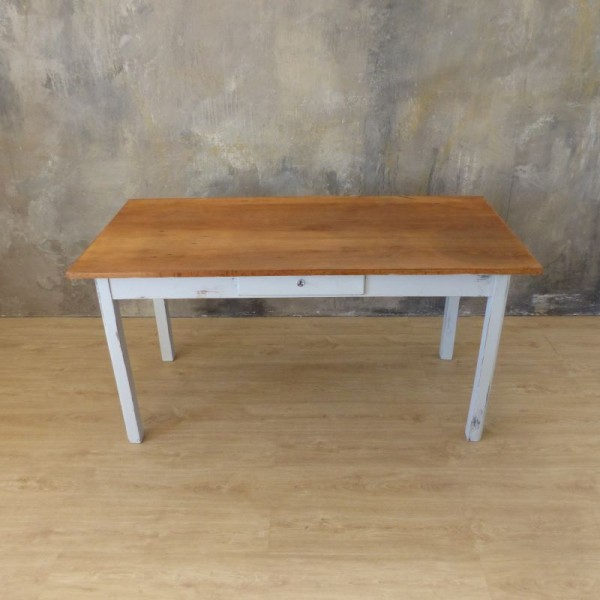 Antique dining table with...