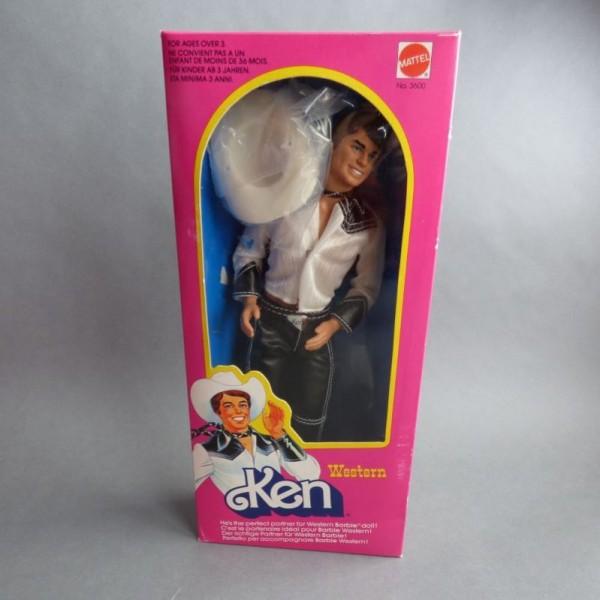 NRFB. Barbie Western Ken...