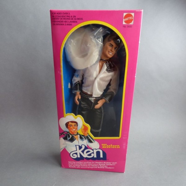 Unbespielt! Barbie Ken...