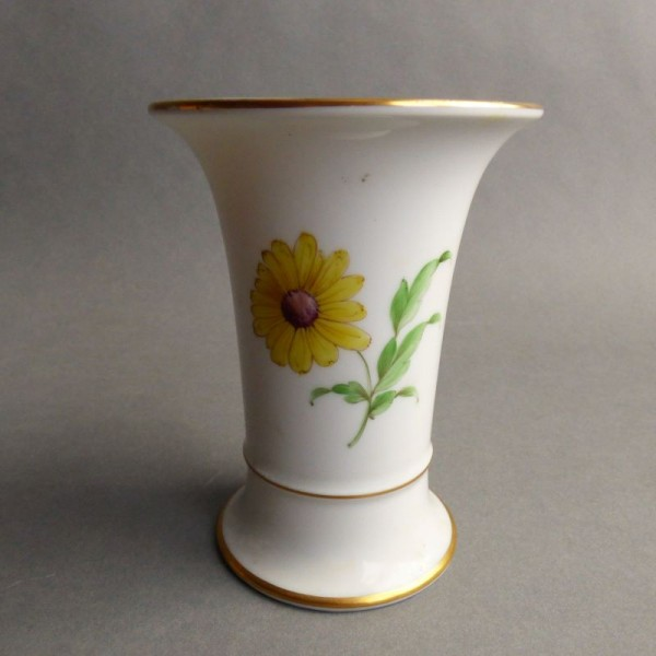 Porcelain vase with floral...