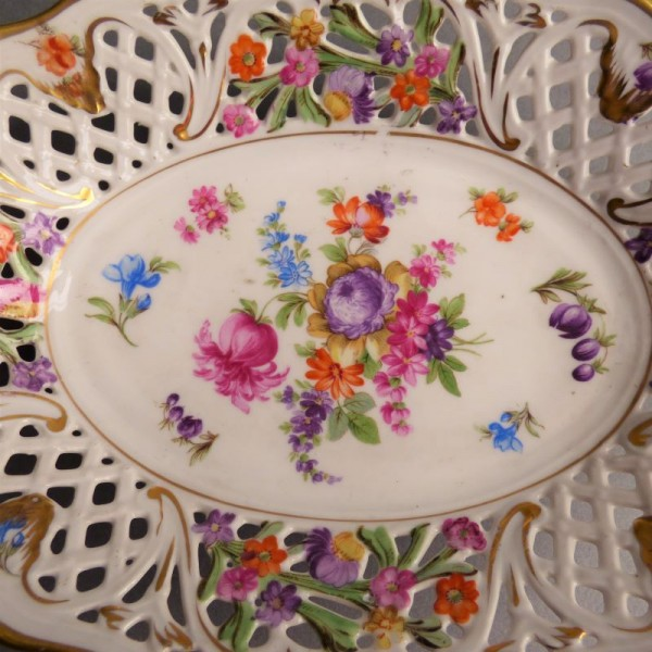 Hand-painted porcelain bowl...