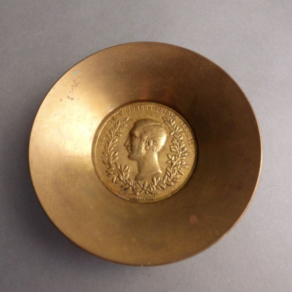 Brass bowl. His Royal...