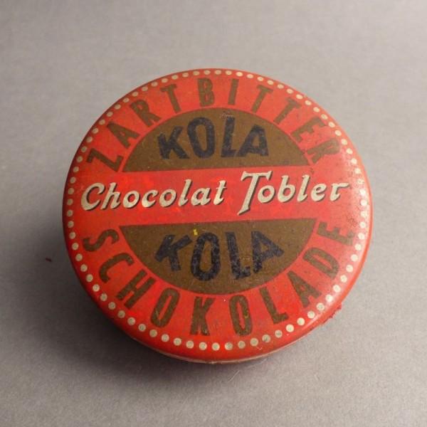 Blechdose Chocolat Tobler...