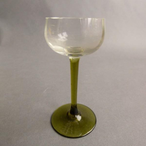 Art Nouveau liqueur glass....