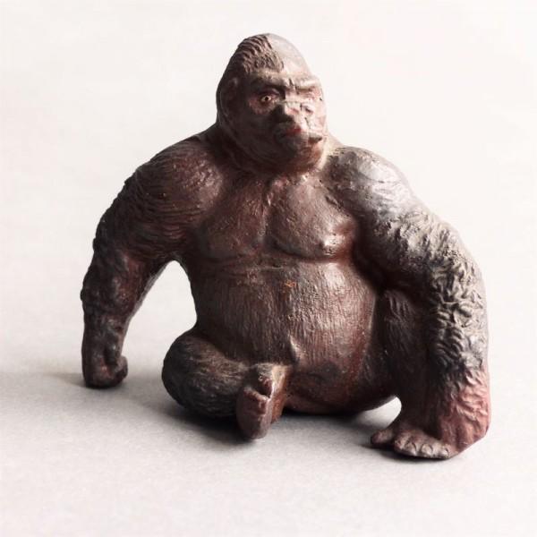 Antiguo juguete. Gorila de...