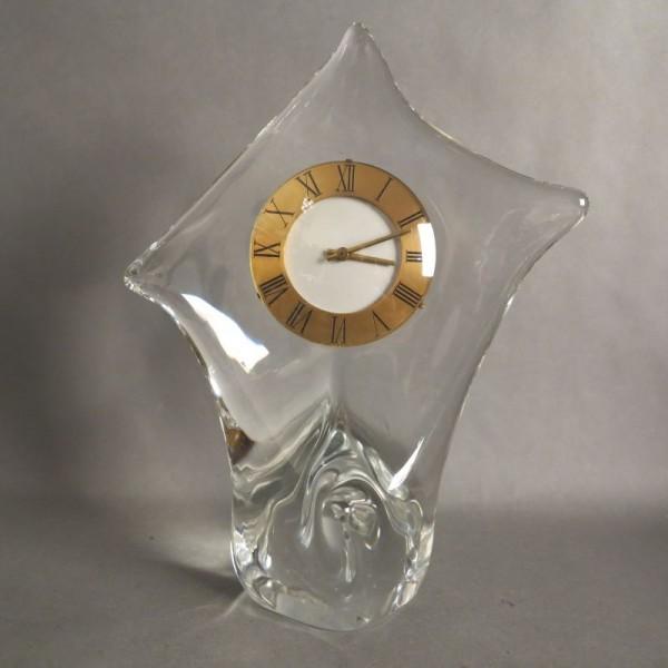 Reloj de mesa de cristal de...