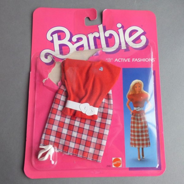 Barbie Active Fashions. 1985