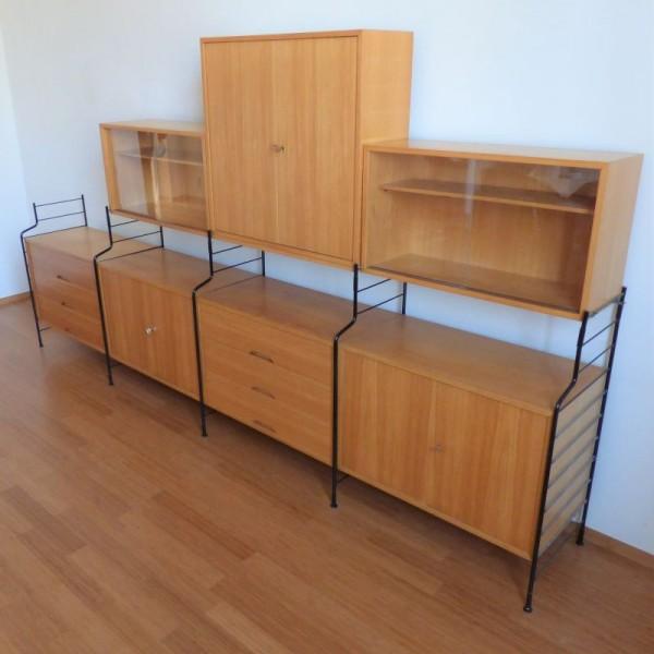 Vintage shelving system...