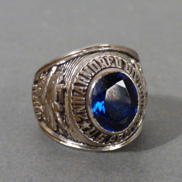 USA. Military ring from the...