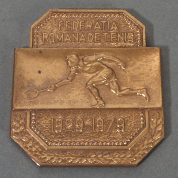 Tennis medal Romania....