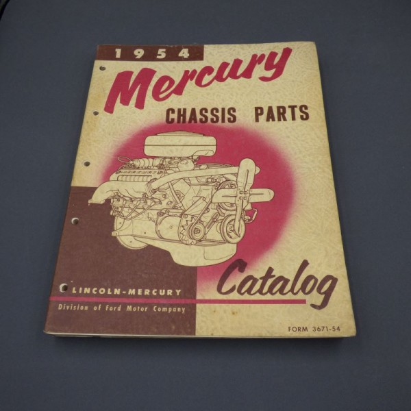 Mercury Chassis Parts...