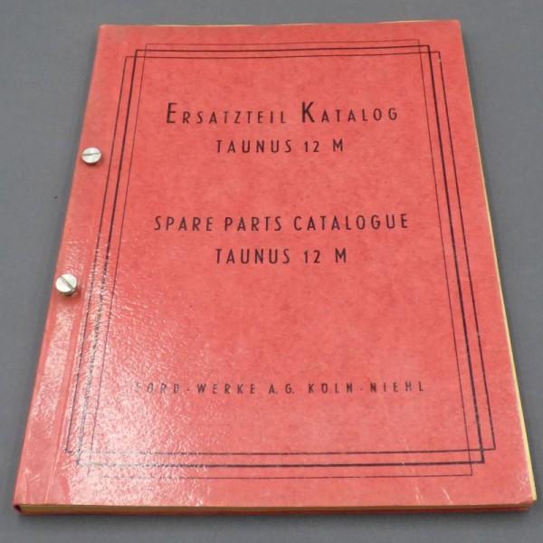 Spare parts catalog Taunus...