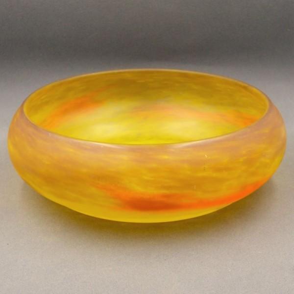 Art Nouveau glass bowl by...