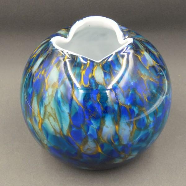 Artist glass vase by Hans...
